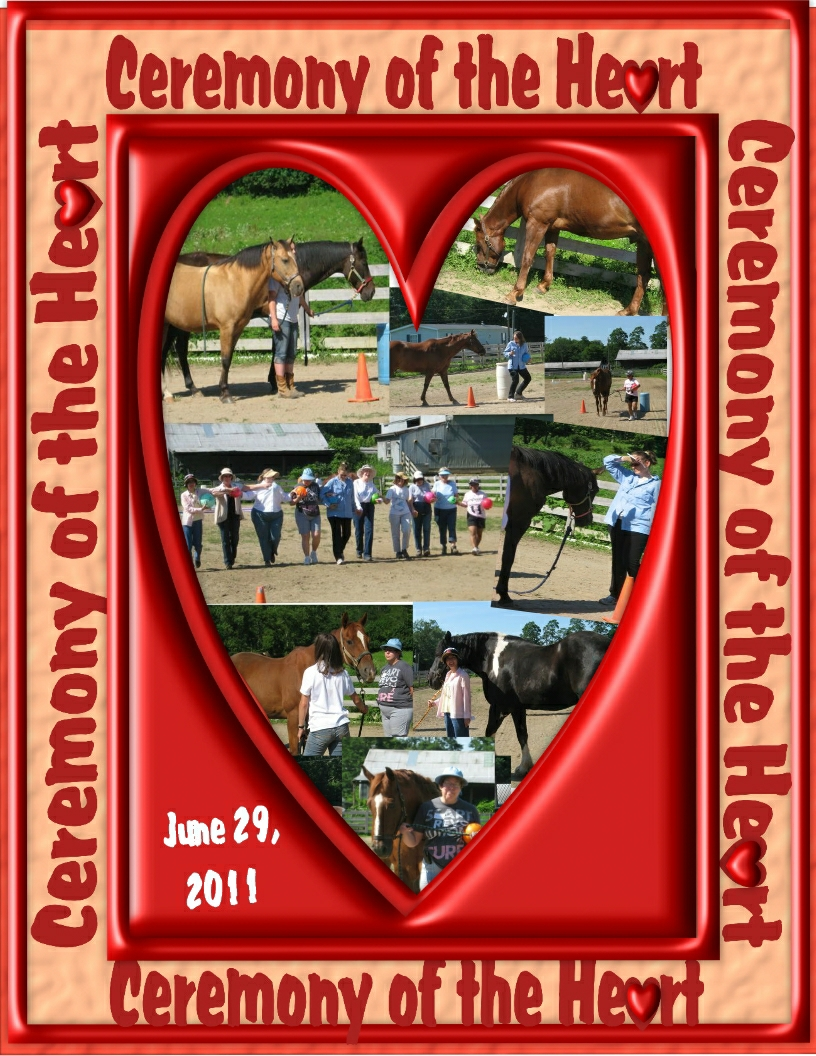 Ceremony of the heart pics in frame